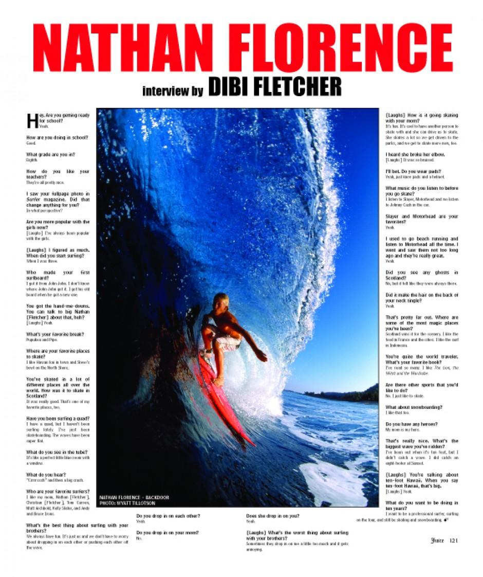 NATHAN FLORENCE