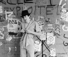 Jordan in the Punk Shack | photo - David Markey