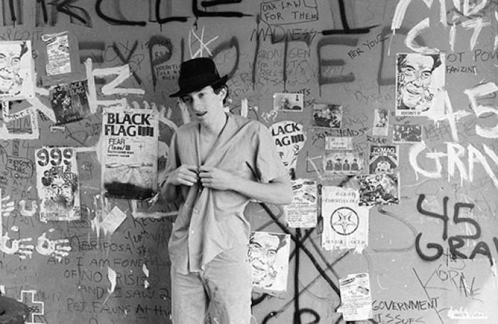 Jordan in the Punk Shack   photo - David Markey