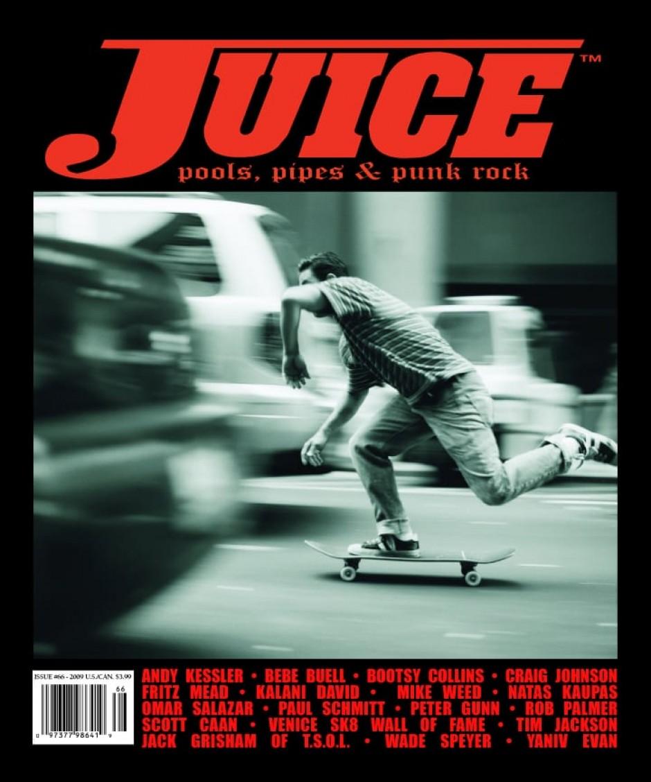 JUICE MAGAZINE 66 - ANDY KESSLER