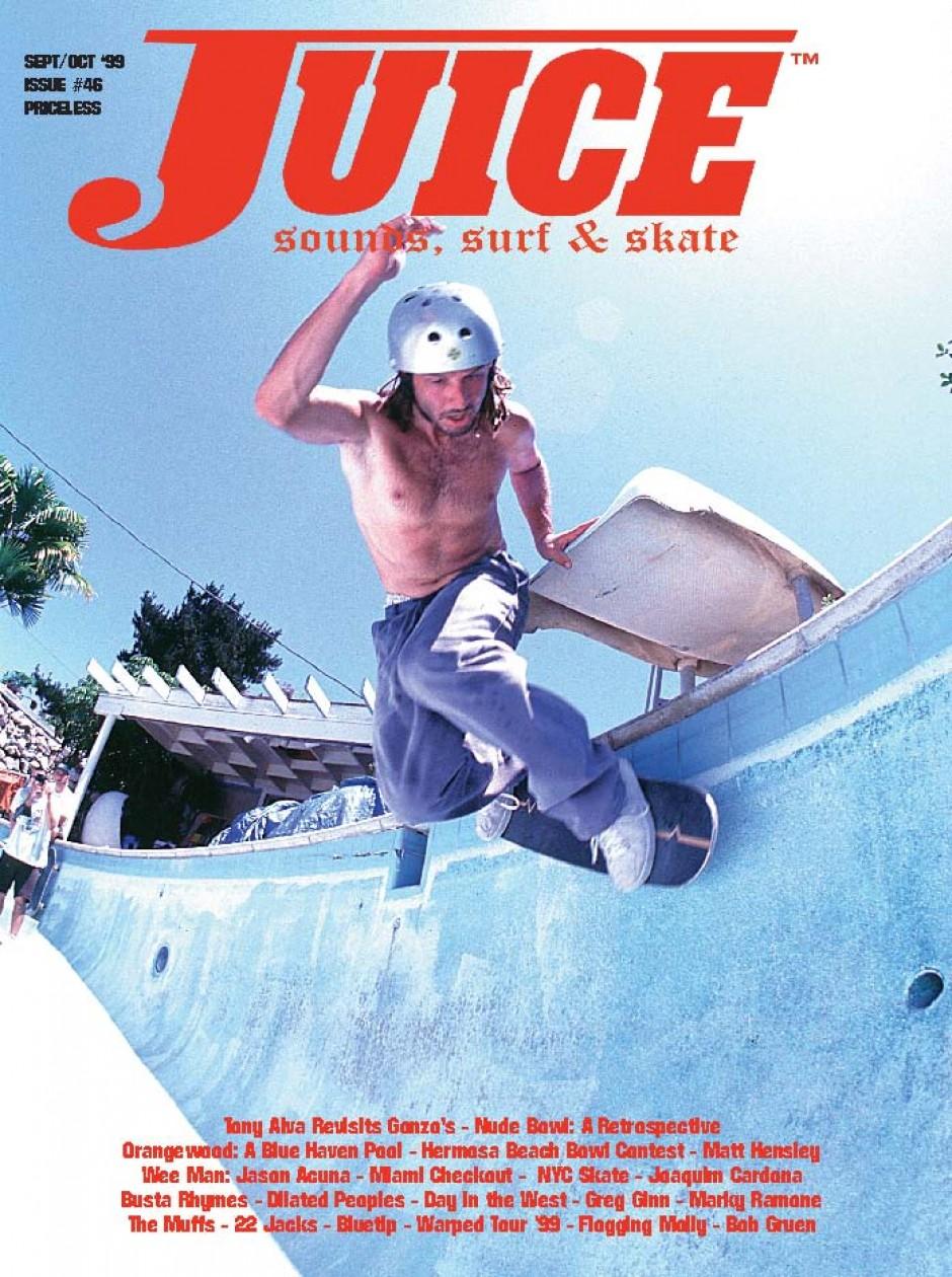 JUICE MAGAZINE 46 TONY ALVA