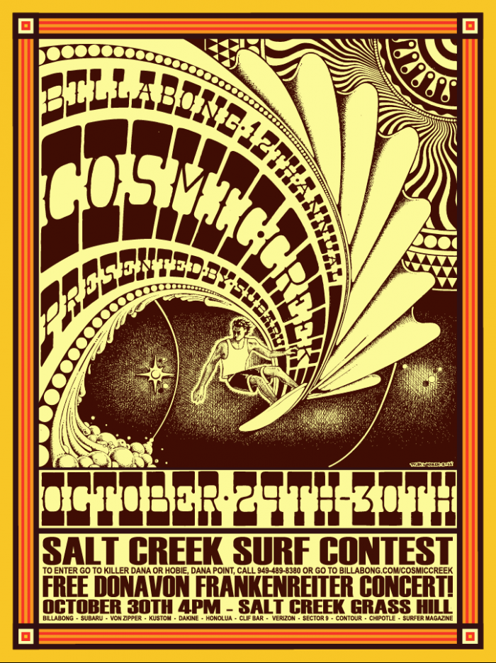 Cosmis Creek the Salt Creek Surf Contest