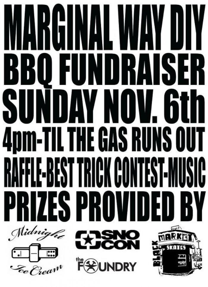 Marginal Way BBQ Fundraiser