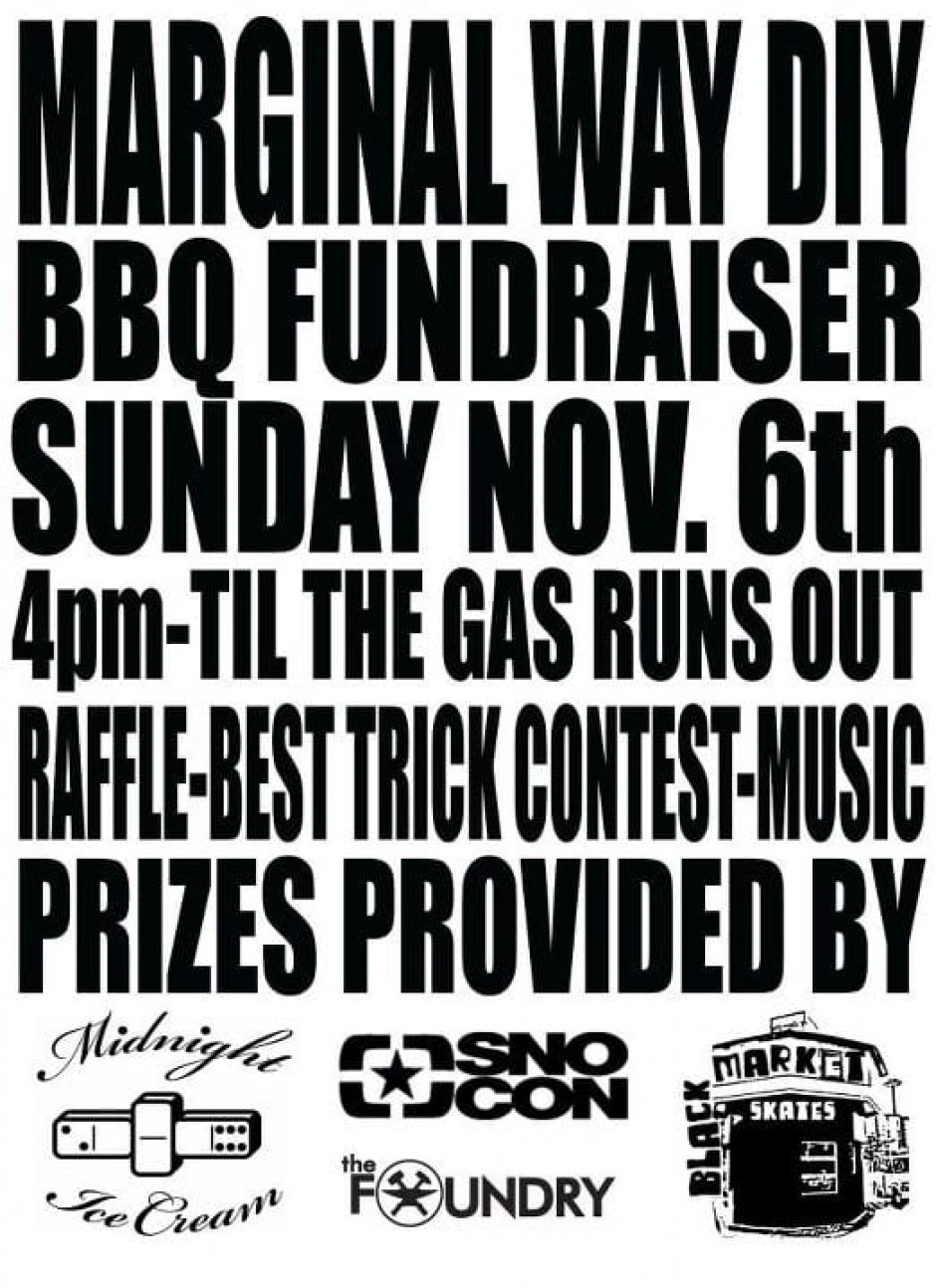 Marginal Way BBQ Fundraiser