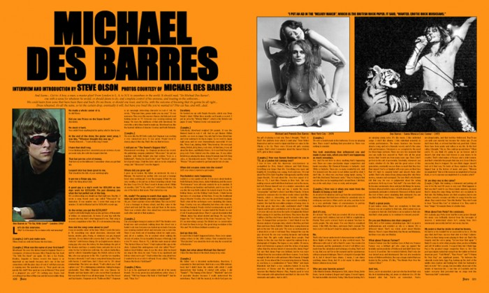 MICHAEL DES BARRES