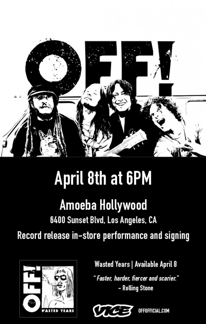 Off!, Music, Amoeba Music