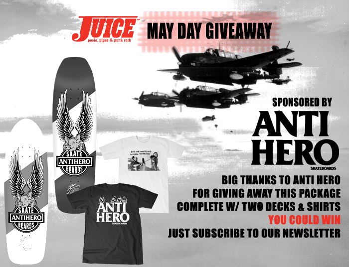 Anti Hero Skateboards May Day Giveaway