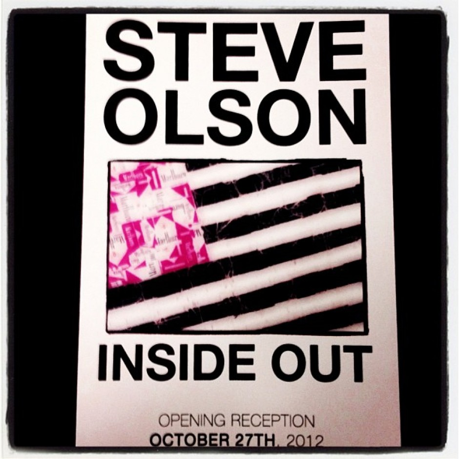 Steve Olson Inside Out at Hadid Gallery