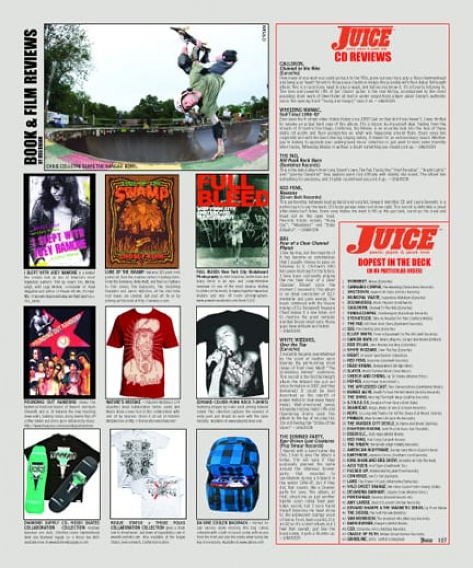 JUICE MAGAZINE CD REVIEWS 67