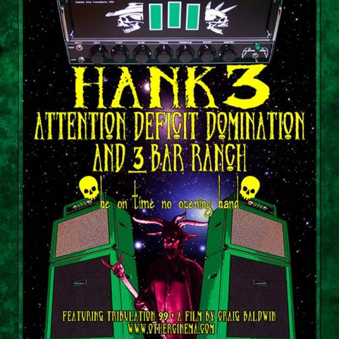 HANK3 Announces Upcoming Eastern U.S. Tour