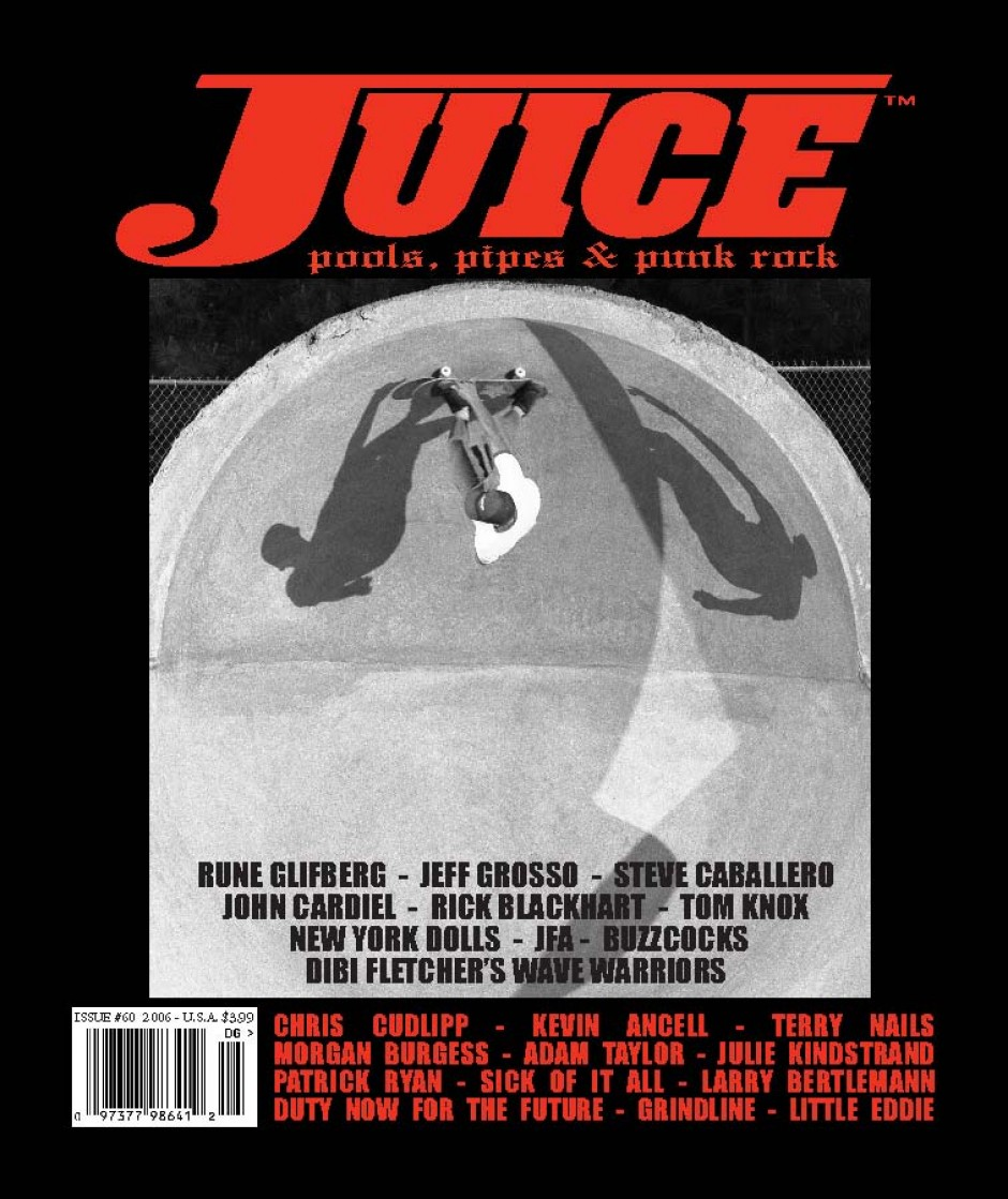 JUICE MAGAZINE 60 DON PENZOTTI